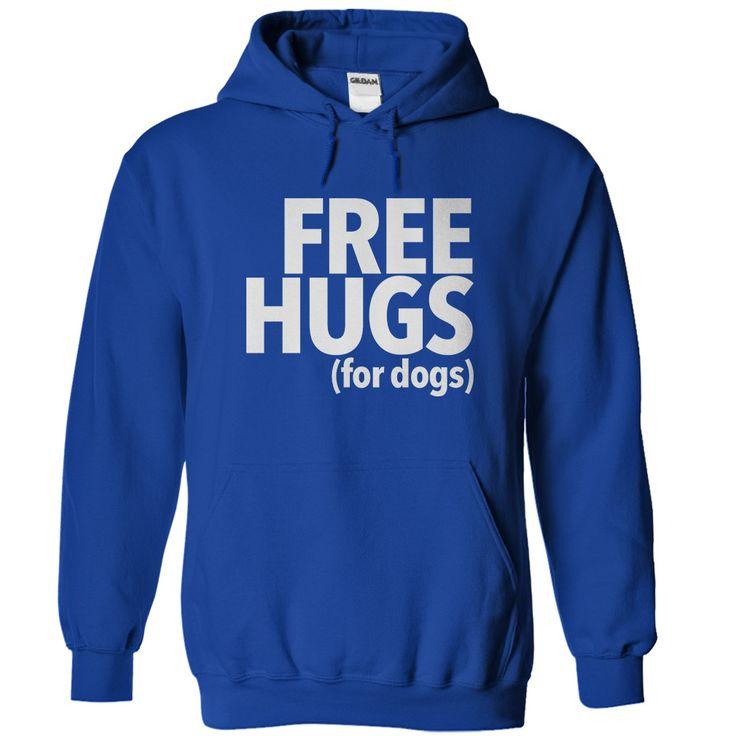 Free Hugs For Dogs Hoodie