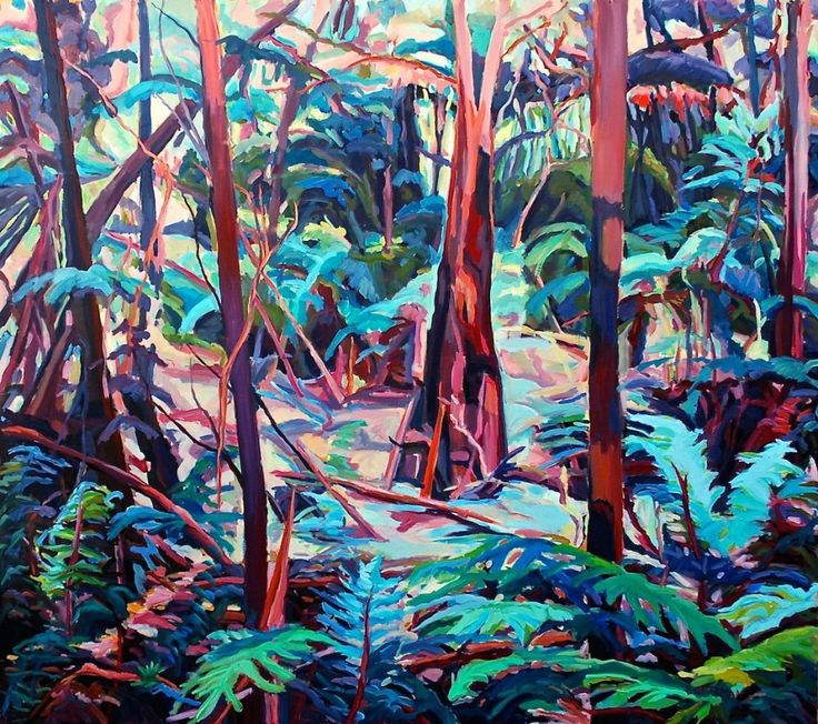 Barbara Bateman | Works | Bush scenes