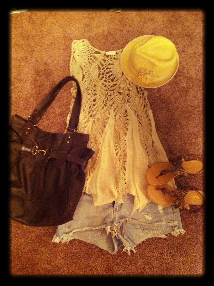 #shorts #hat =vacation outfit
