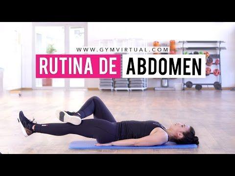Rutina de abdominales interiores | Marcar abdomen - YouTube