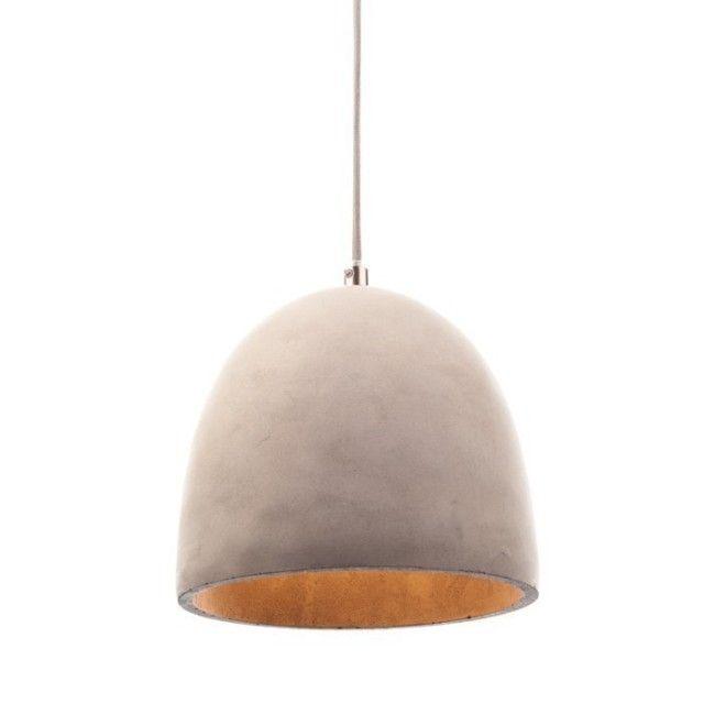 Vakker pendellampe av betong #Pendellampe #Lunelamper #lampe #lamps #lamper https://www.lunelamper.no/butikk/pendellamper