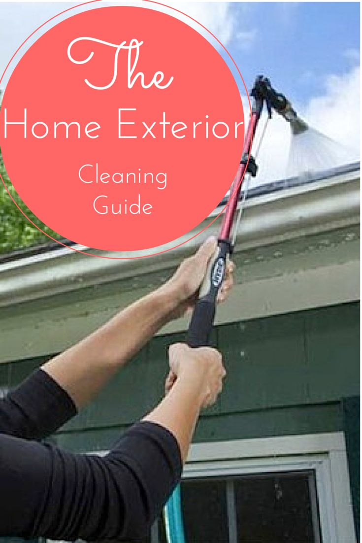 Your guide to spring cleaning your home 39 s exterior - How to clean the exterior of a house ...