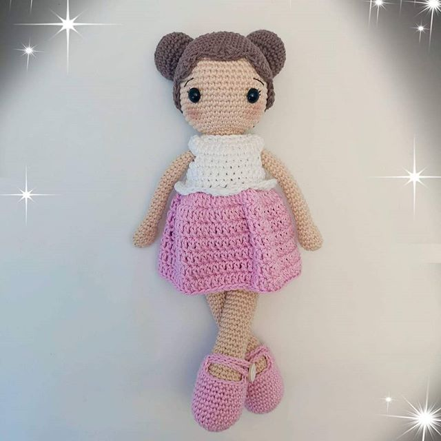 Crochet Dolls Patterns You'll Love (With images) | Crochet doll ... | 640x640