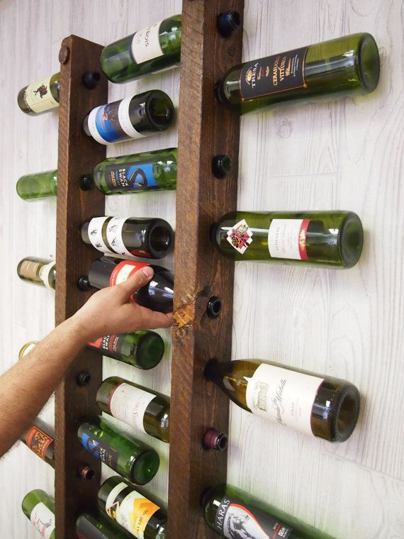 Wine Rack 16 escaleras de botella Set de 2 por VetrinaDelVino