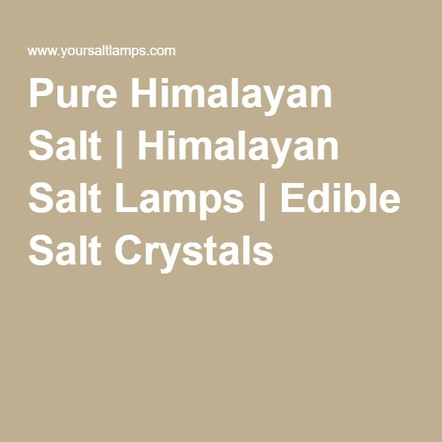 Best 25+ Himalayan salt crystals ideas on Pinterest