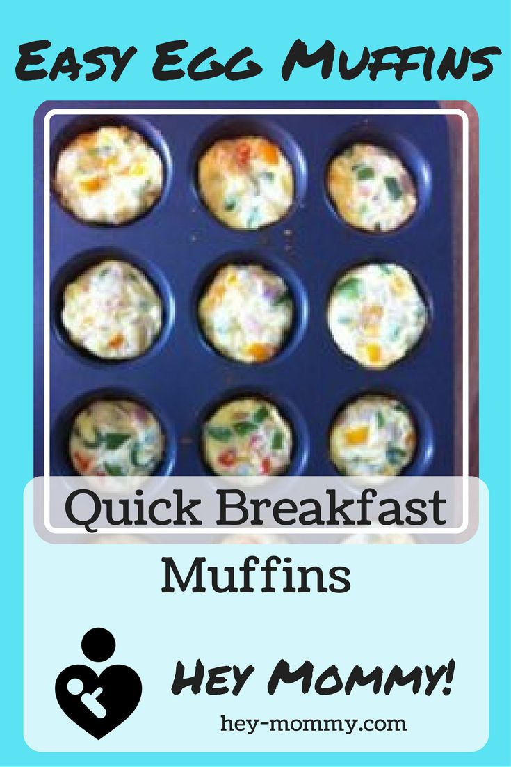 Egg Muffins - Quick and easy breakfast idea