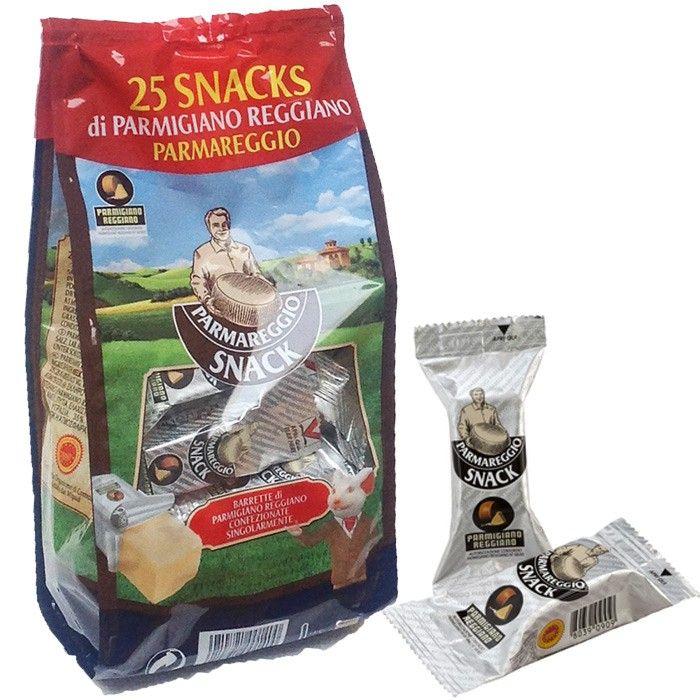 Parmigiano Reggiano PDO - 25 snack cheese vacuum packaged #parmashop #parmesancheese