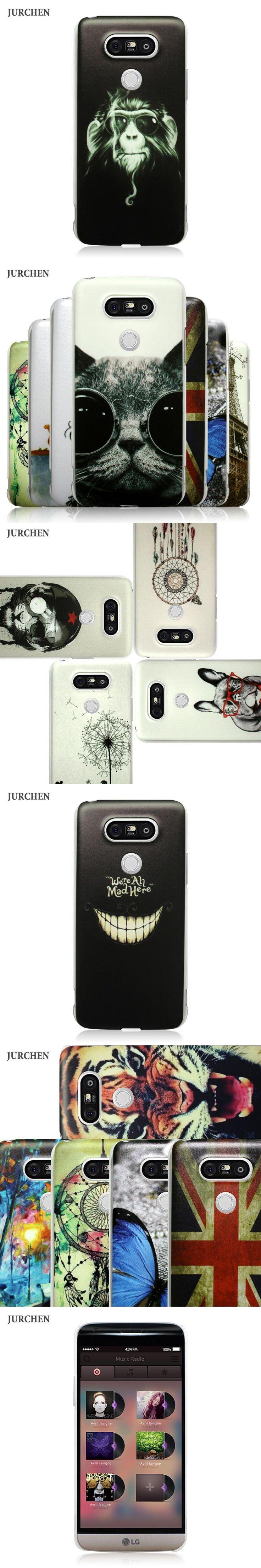 JURCHEN Case For LG G5 Case Cover For LG G5 Cover Phone Case For LG G5 SE H830 H840 H845 H850 LGG5 Case Cute Lovely Cartoon Hard