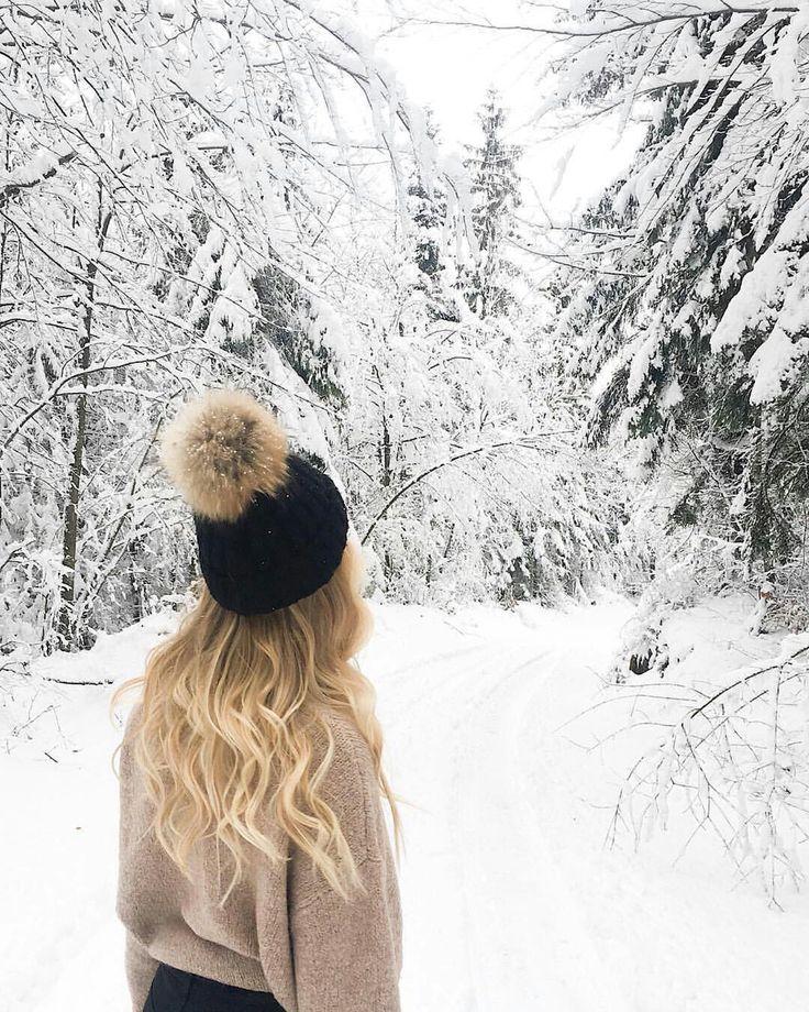 Картинки сзади зимой