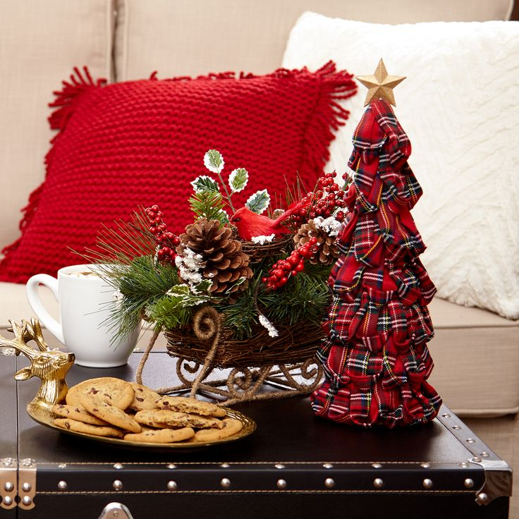 Add In Small Christmas Décor Additions To Give Your Living Room A Boost Of  Holiday Cheer Part 62