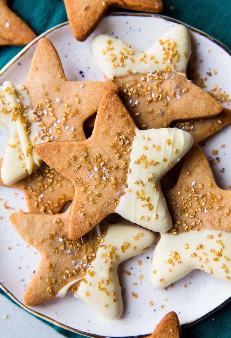 recette biscuit de Noel etoiles cannelle sirop erable chocolat lait