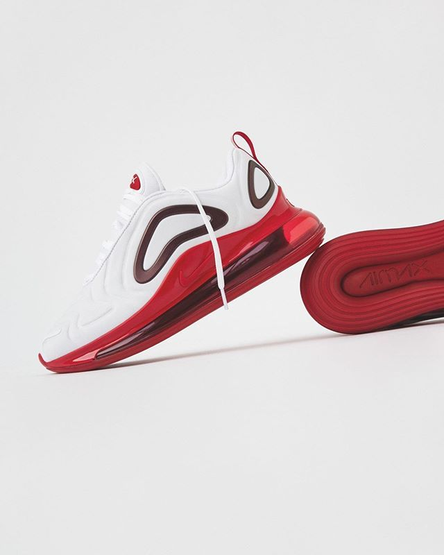 New Nike Wmns Air Max 720 How About The Red Air Unit Click To Shop Bstn Wmns Nike Airmax720 Airmaxlove Nikewmn Nike Air Max Nike Air Max