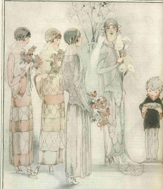 133 Best Images About 1920's: Fashion Plates On Pinterest