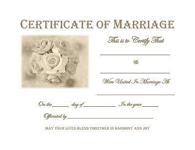 Best 25+ Marriage certificate ideas only on Pinterest   Wedding ...
