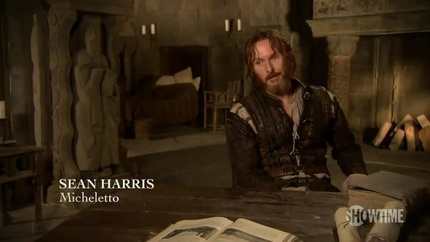 Sean Harris as Micheletto Corella in The Borgias