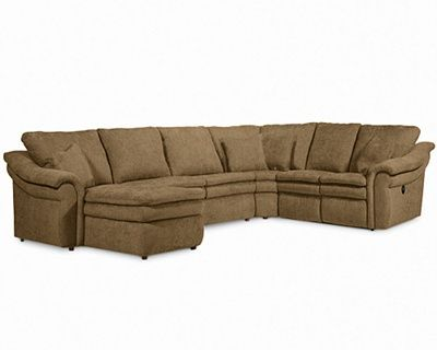 Awesome Devon Sectional by La Z Boy Customizable with recliners and even a pull Photo - Style Of Sectional sofa with Pull Out Bed Unique