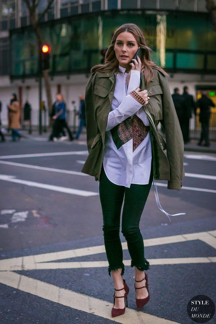 Olivia Palermo at London Fashion Week Fall 2017 - Street Style