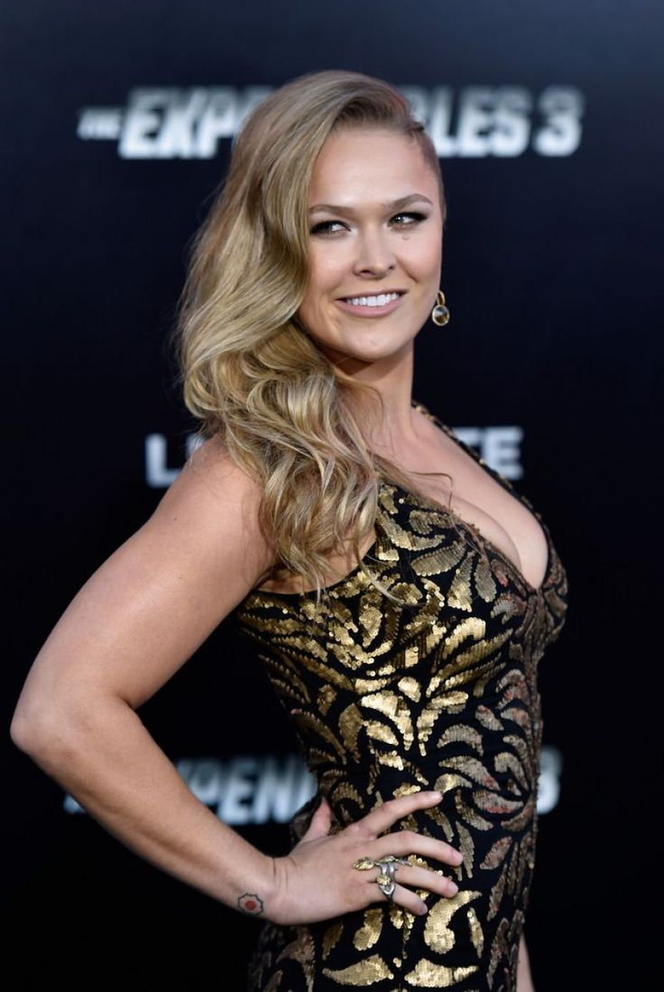 Ronda Rousey – 'The Expendables 3′ Premiere in Hollywood - CelebMafia