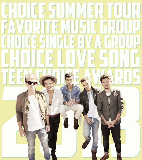 Teen Choice Awards 2013: One Direction- Choice Sum…