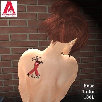 2ndlifeavatar | Show us your (ALS) TATS! | Ribbon tattoos ...