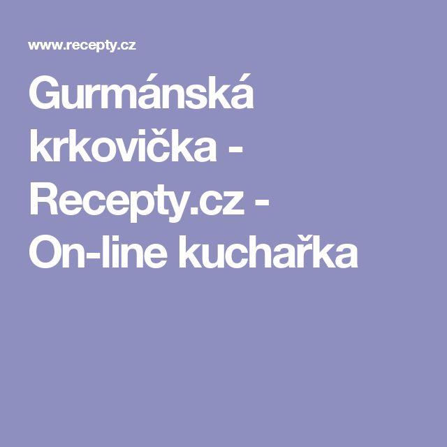 Gurmánská krkovička - Recepty.cz - On-line kuchařka