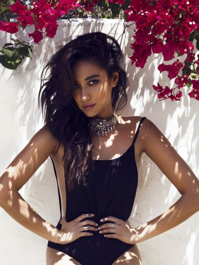 Shay Mitchell for Amore & Vita.