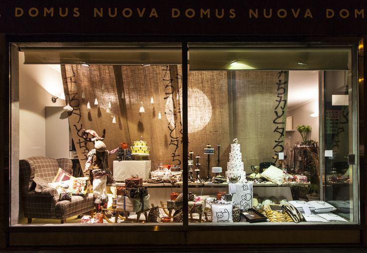 Nuova Domus Udine shop window - Christmas 2013