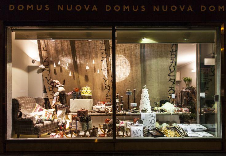 Nuova Domus Udine shop window - Christmas 2013