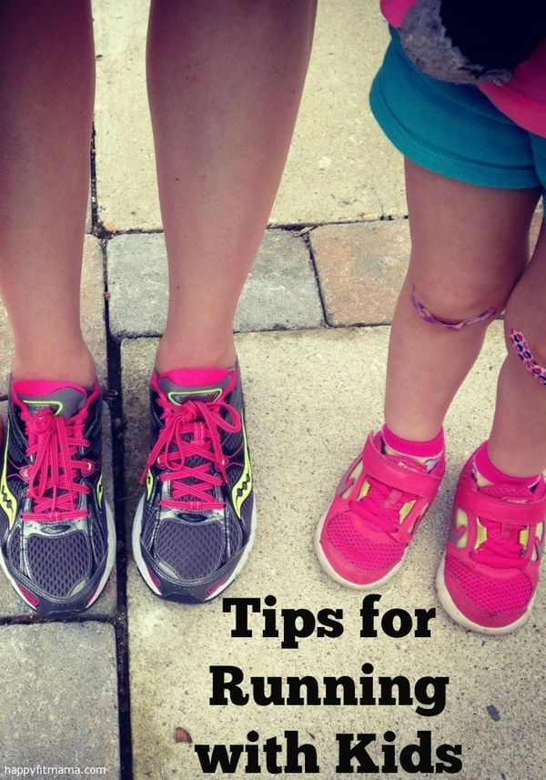 Do you and your kid(s) love to run?  Here are 5 tips for getting your kids out there and having fun while running!