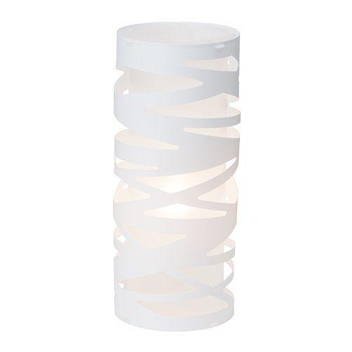 FINA Brilliant - stolová lampa - biely plast - 360mm