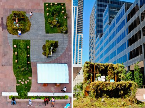 The Great Outdoors: Office Space Goes Green And Open Air