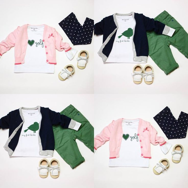 Baby it's cold outside! Combine our cute golf t-shirts and your ready for winter :-)