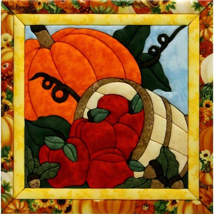 "Harvest Quilt Magic Kit-12""X12"""