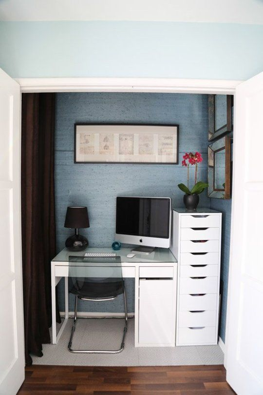 Fabulous 17 Best Ideas About Small Workspace On Pinterest Desk Space Largest Home Design Picture Inspirations Pitcheantrous