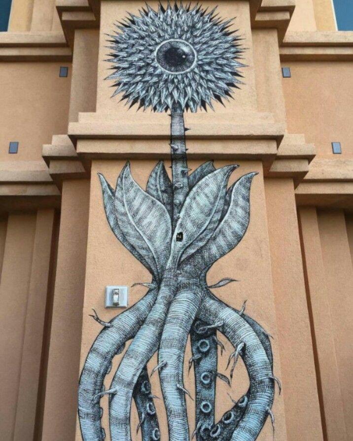 Street Art by Alexis Diaz, located in Las Vegas, Nevada