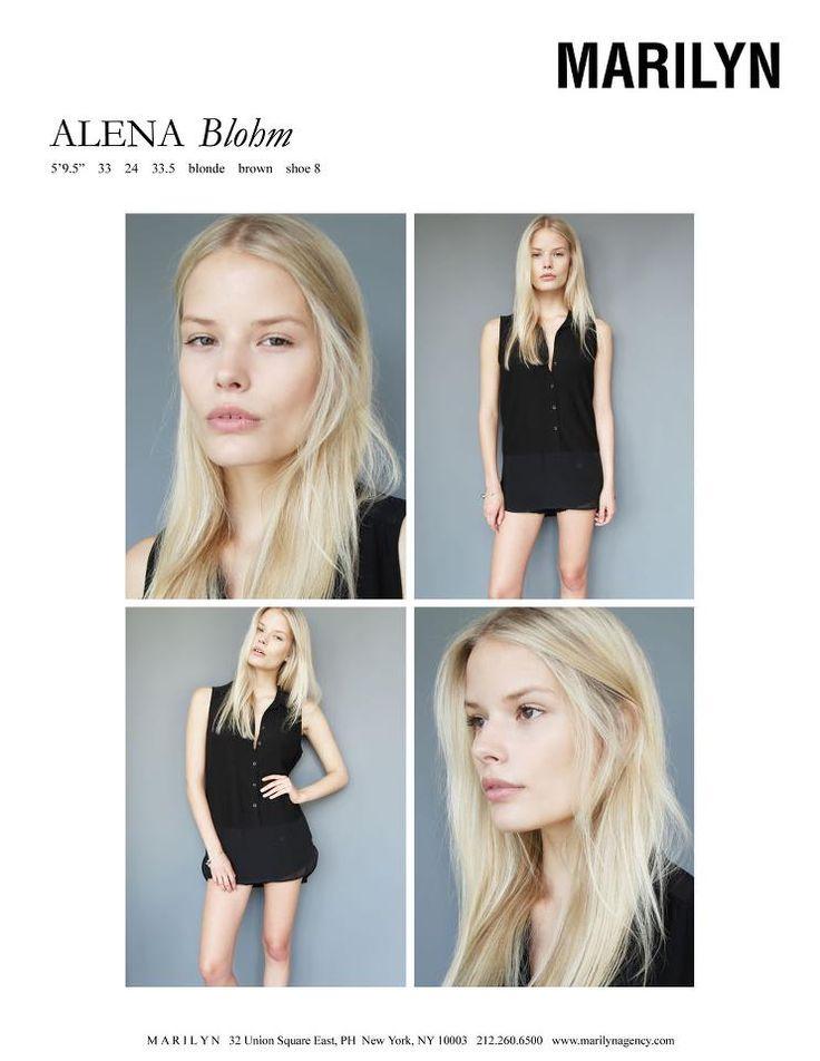 Alena Blohm  Marilyn July 2012