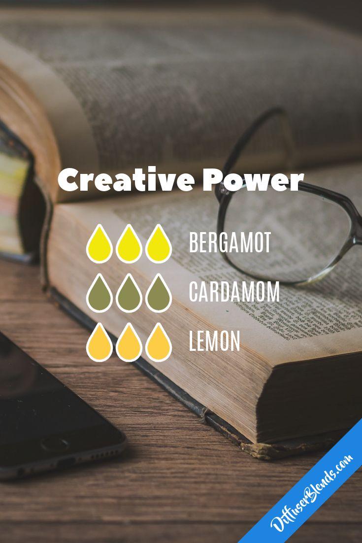Creative power - bergamot, cardamom and lemon