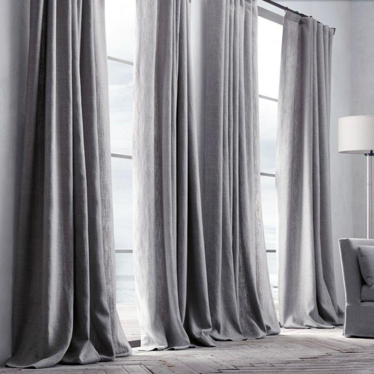 Kaufen Vorhang Grau Leinen 1 Stck Mit Gnstigste Preis Und Gute Service