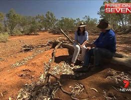 The personal cost of outback drought - Yahoo!7 News Video