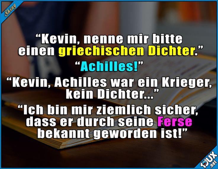Naja, fast richtig ^^'  #Lustige Memes und Sprüche #Humor #Sprüche #lustigeBilder #Memes #lustigeSprüche #Schule #Kevin