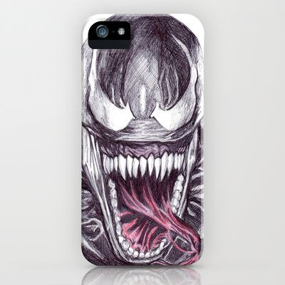 Venom iPhone & iPod Case by DeMoose_Art - $35.00  Free Shipping + $5 Off Each Item in your shop!