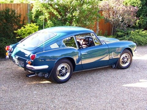 1969 Mk2 GT6. Valencia Blue. She is sitting pretty and looking fine with her bad self.