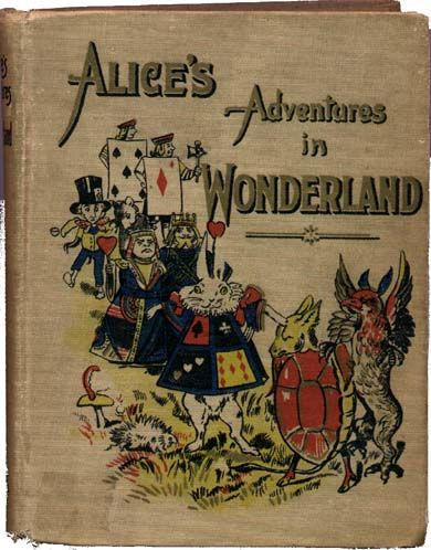 Alice's Adventures in Wonderland. Year: #1901. Country: #US. Illustrations: John Tenniel. Additional Info: DeWolfe, Fiske & Co printing edition. #book #cover #art