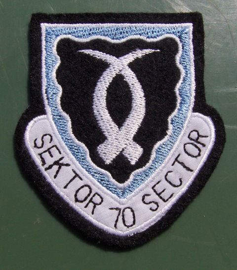 Sector 70 was established as the headquarters of one of the 7 geographical areas within South-West Africa used by the SADF to control and coordinate military operations. Sector 70 encompassed East Caprivi, covering the Zambian land border from the Cuando to the Zambezi River, and the riverine border with Zambia along the Zambezi to its Cuando confluence. Headquarters was at Katima Mulilo with 701 Battalion.