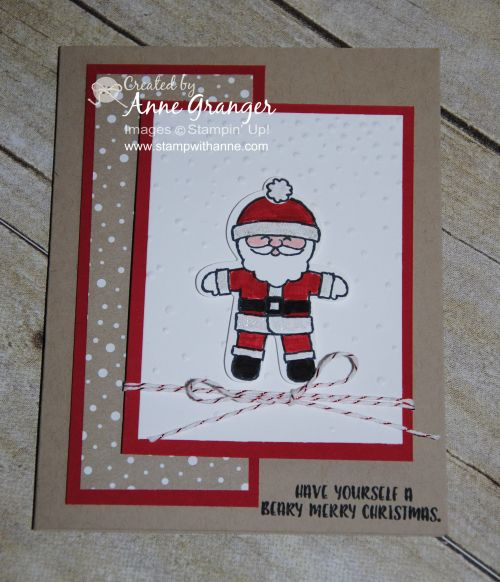 Sneak Peak: Cookie Cutter Christmas Card | Stamp With Anne | Bloglovin'