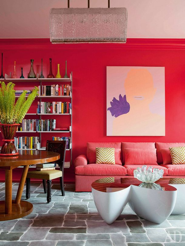 Awesome Purple and Red Living Room Ideas