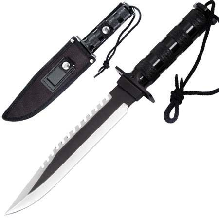 Survival Military Bowie Hunting Knife HK876B | eBay