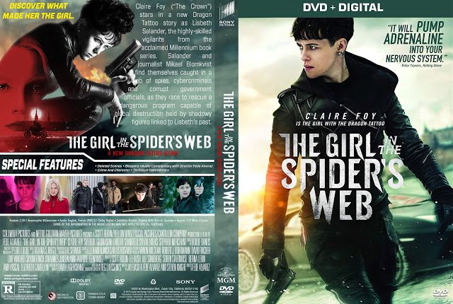 The Girl In The Spider S Web Dvd Cover Dvd Covers Dvd Cover