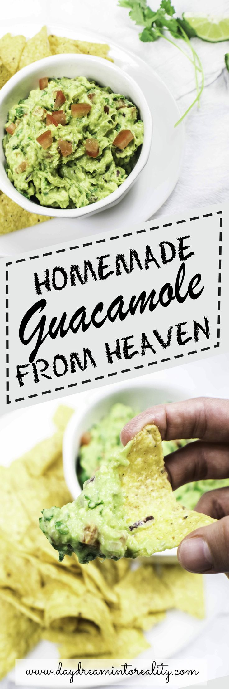 Wow, I cant believe it! This guacamole is the best one I have ever had... I am for sure keeping this recipe. Its so good that I want it all for myself! ALL!
