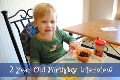 Director Jewels: Interview with Lincoln: 2 Years Old